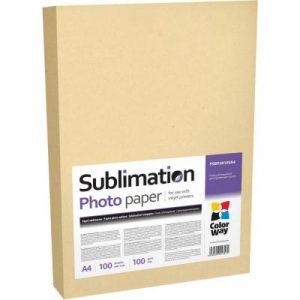 Сублимаційна бумага ColorWay A4 (100л) 100г/м2