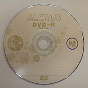 DVD-R Alerus 4,7Gb (bulk 50) 16x Printable