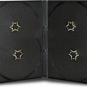 DVD box/4 black 14mm глянцевий